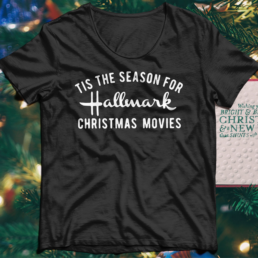 Tis the season for Hallmark christmas movies sweater