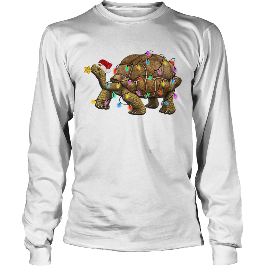 Turtles Satan light Christmas Longsleeve Tee