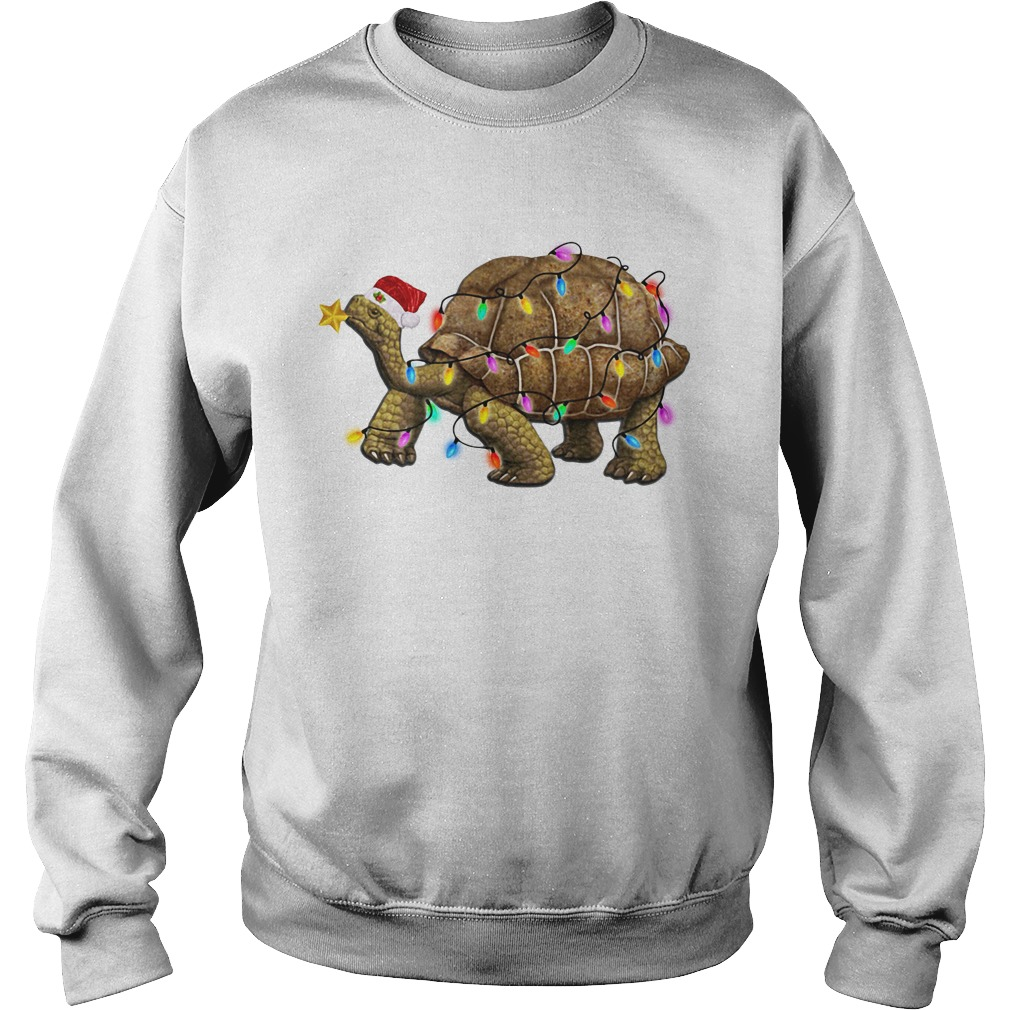 Turtles Satan light Christmas Sweater