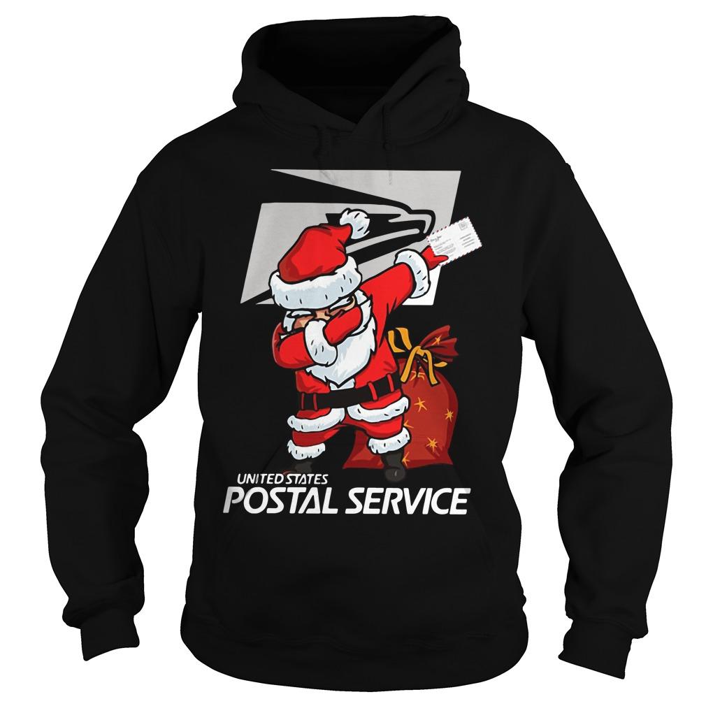 United States Postal Service Santa Claus Dabbing Christmas Hoodie