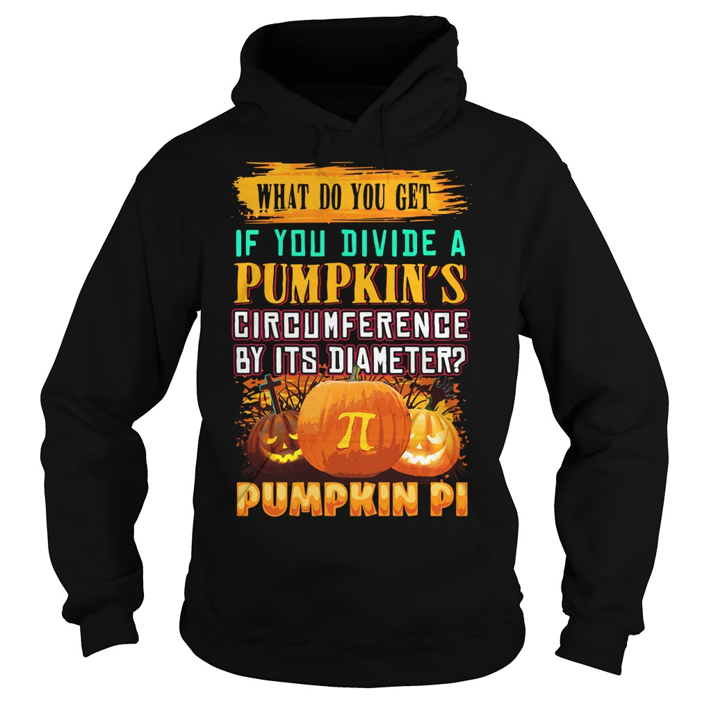 What Do You Get If You Divide A Pumpkin's Circumference Hoodie