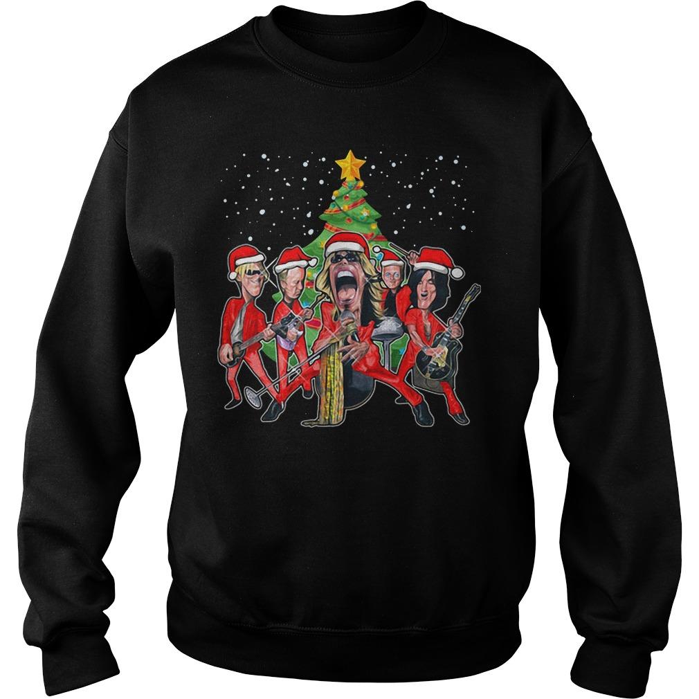 Aerosmith band Christmas Sweater