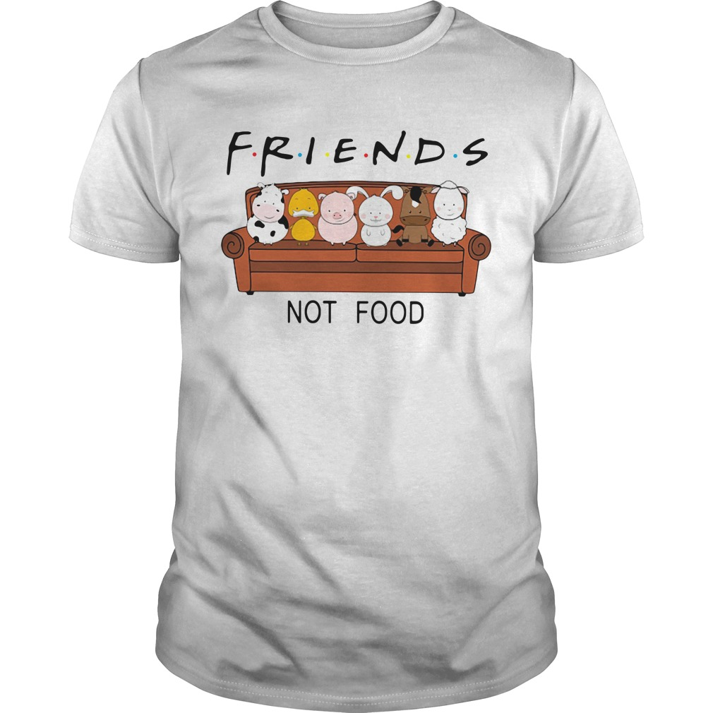 Animal are friends not food Guys shirt