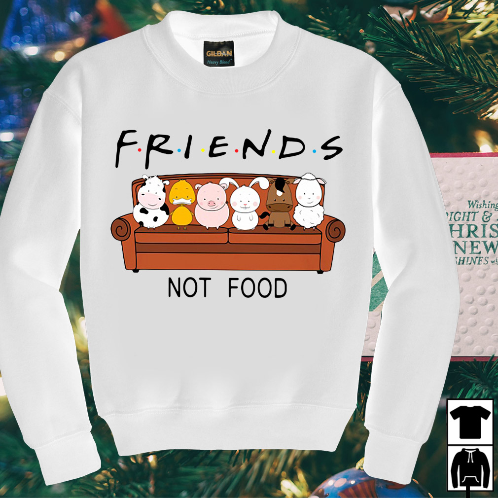 Animal are friends not food shirt