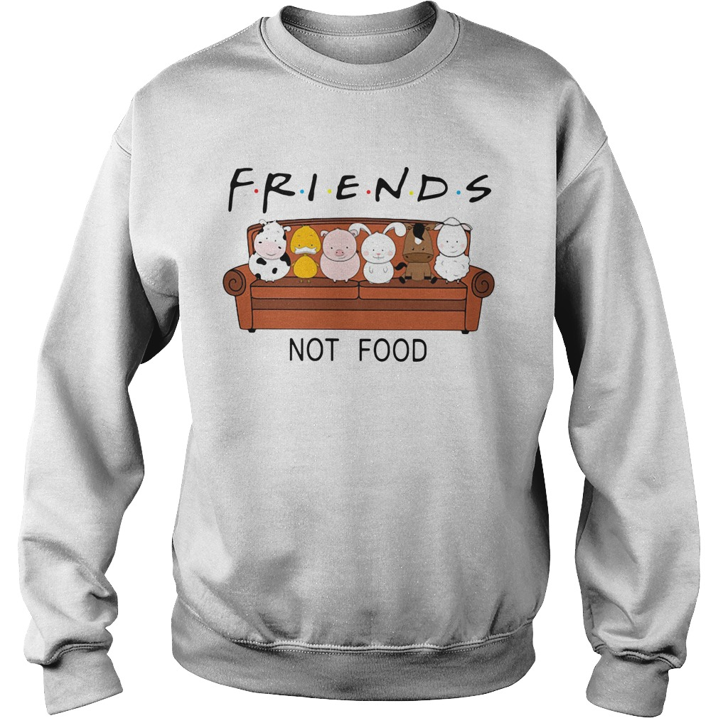Animal are friends not food Sweater