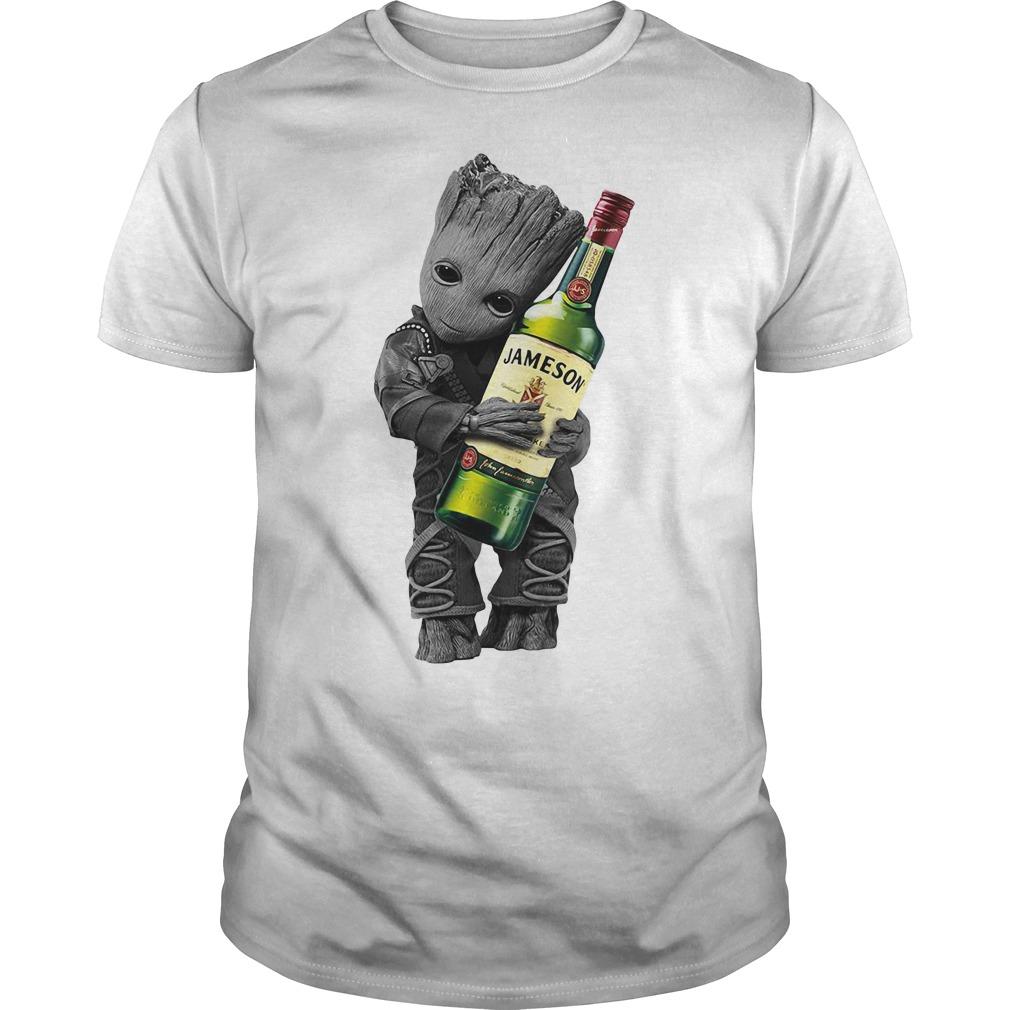 Baby Groot hug Jameson Guys Shirt