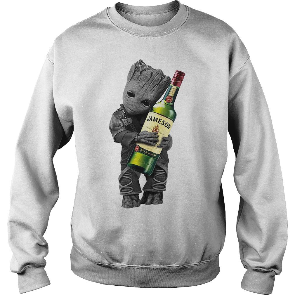 Baby Groot hug Jameson Sweater
