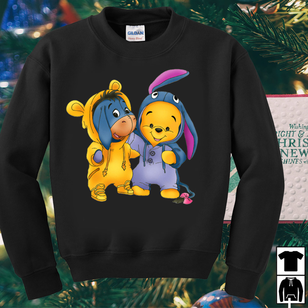 Best friends Pooh and Eeyore shirt