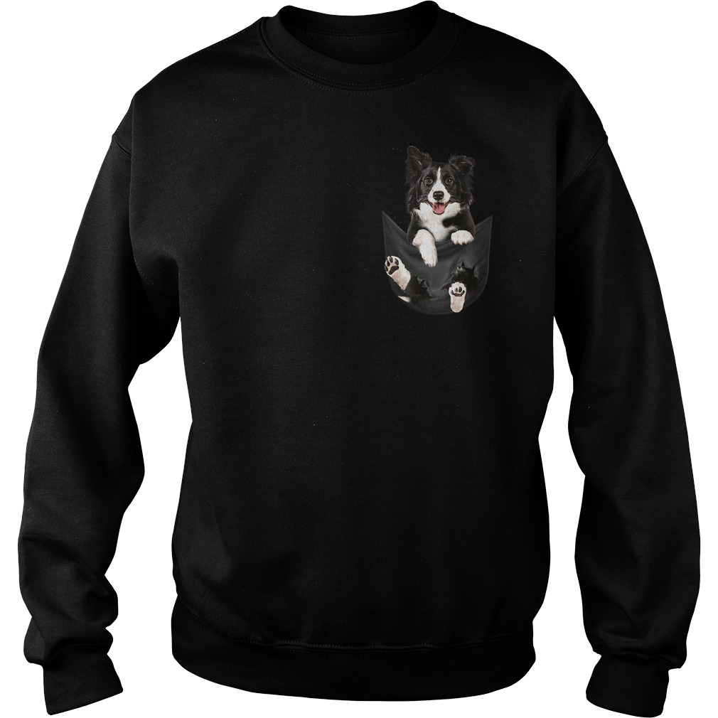Border Collie in your pocket Sweater