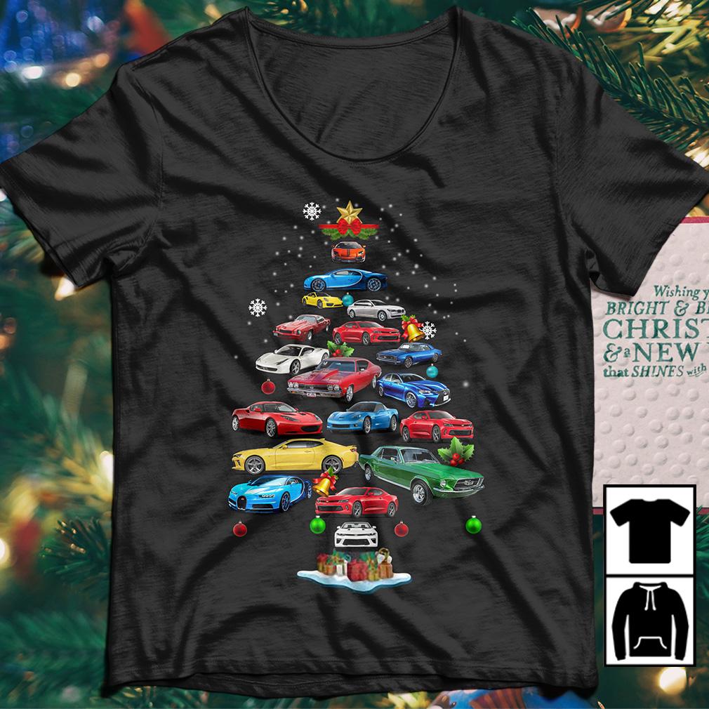 Camaro Christmas Tree sweater