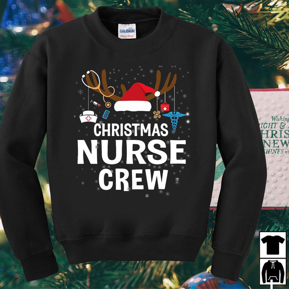 Christmas nurse crew sweater