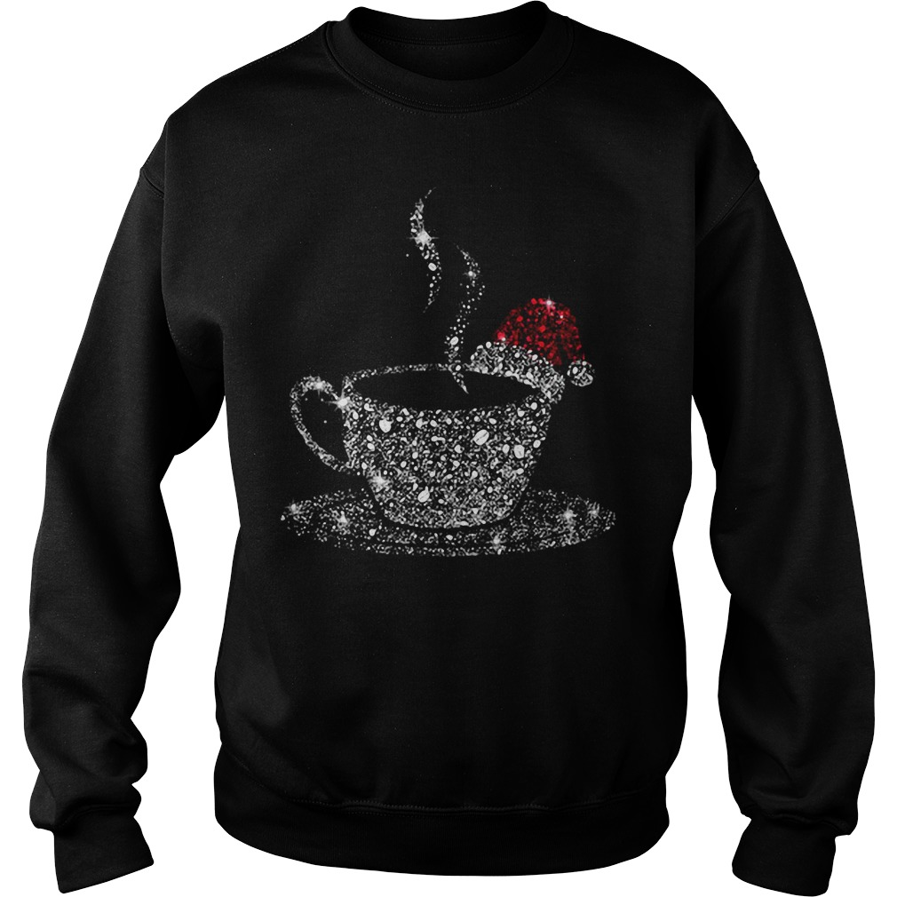 Coffee Bling Christmas Ugly Sweater