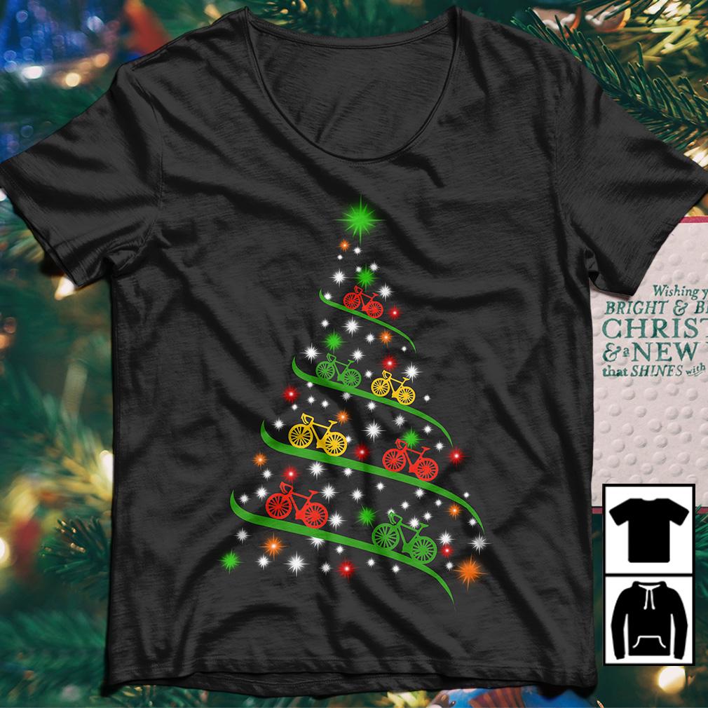 Cycle Christmas tree sweater