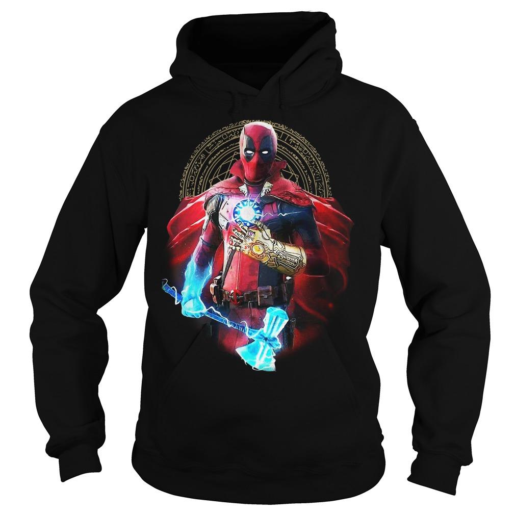 Deadpool Thor Stormbreaker Thanos Infinity Gauntlet Doctor Strange Hoodie