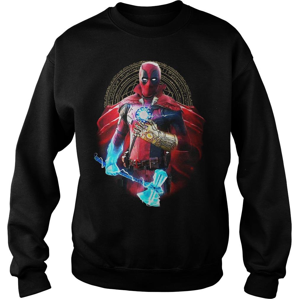 Deadpool Thor Stormbreaker Thanos Infinity Gauntlet Doctor Strange Sweater