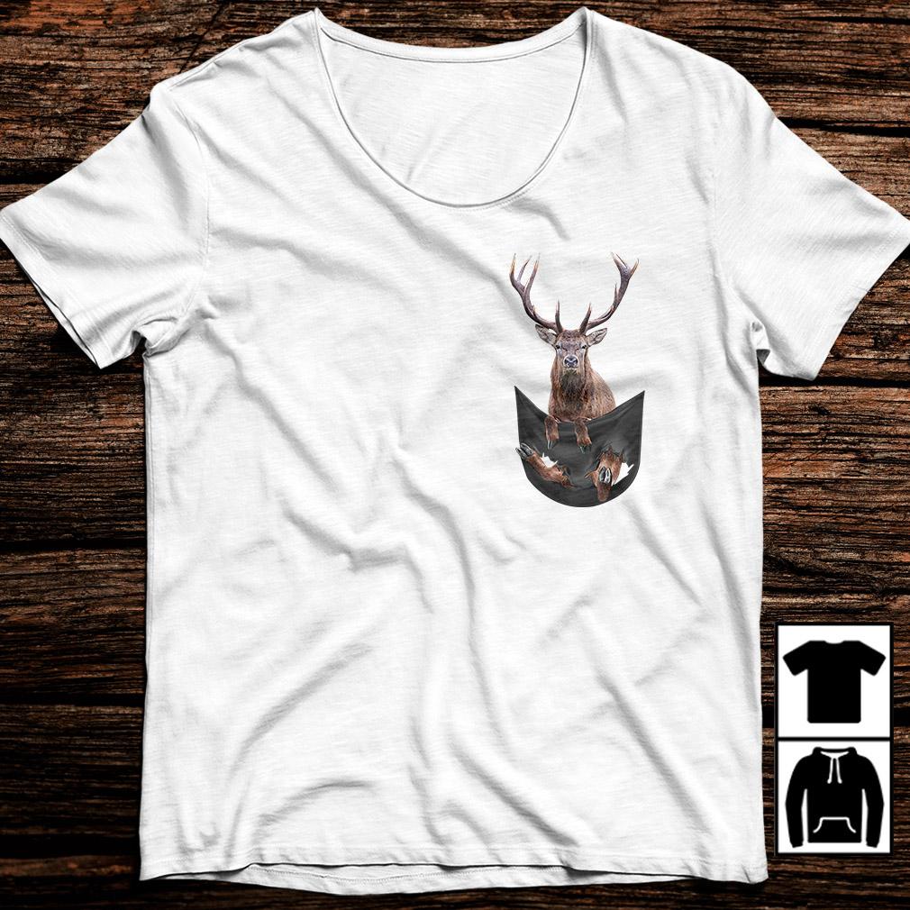 Deer in your pocket shirt