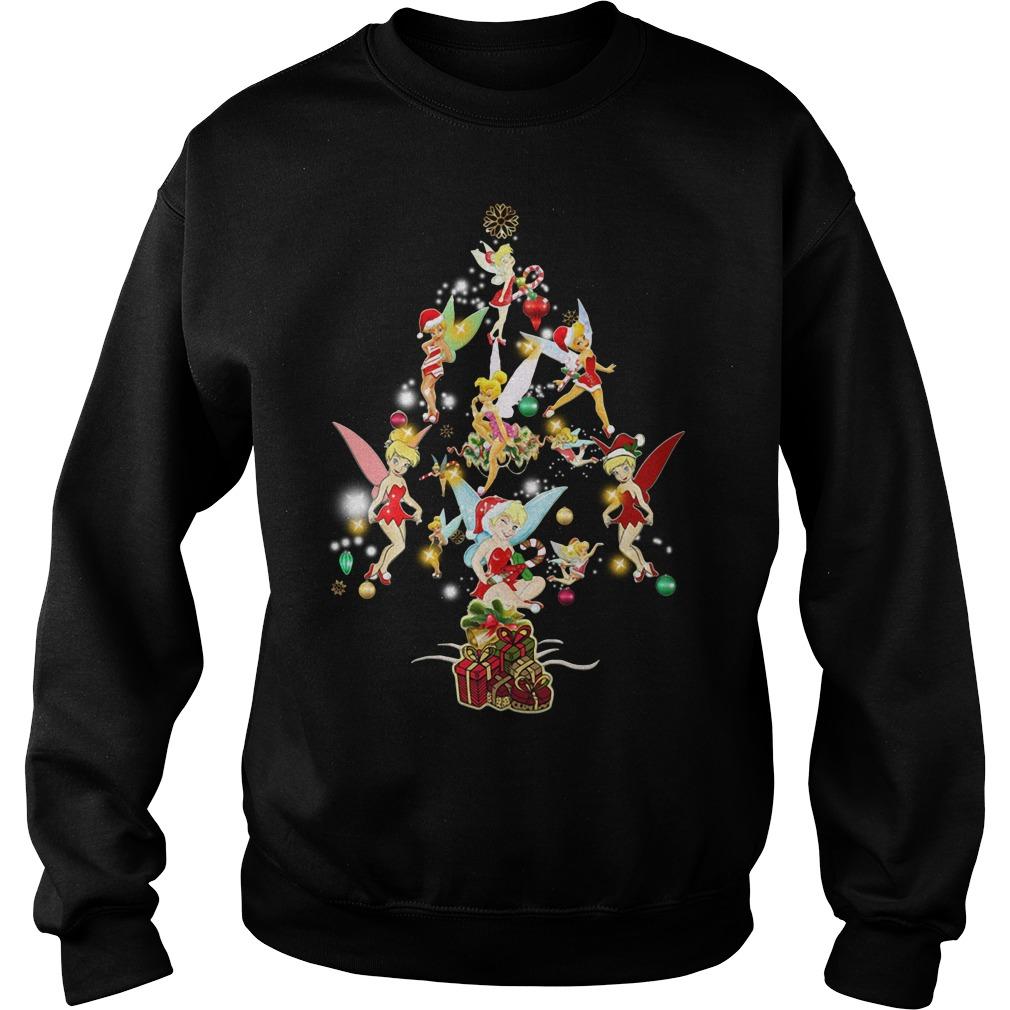 Disney Tinkerbell Christmas Tree Sweater
