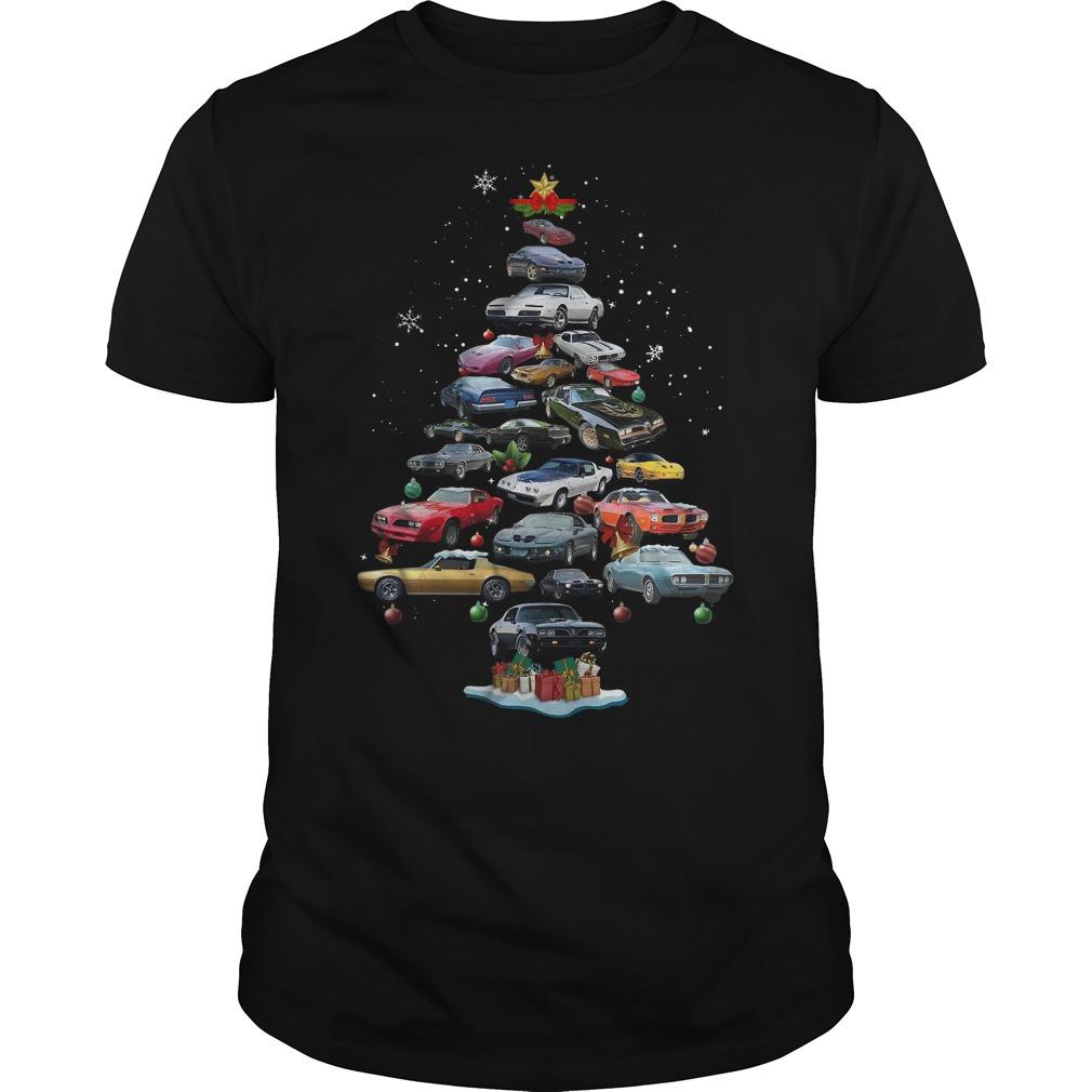 Firebird Christmas tree Guys Shirt
