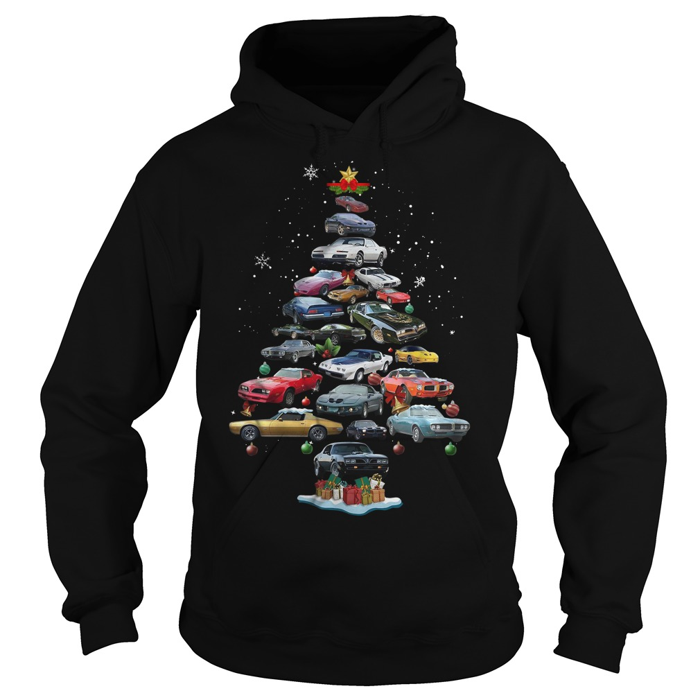 Firebird Christmas tree Hoodie