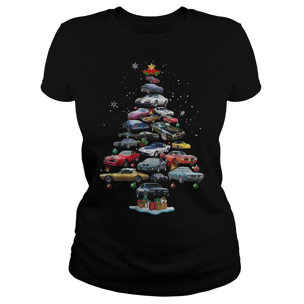 Firebird Christmas tree Ladies tee