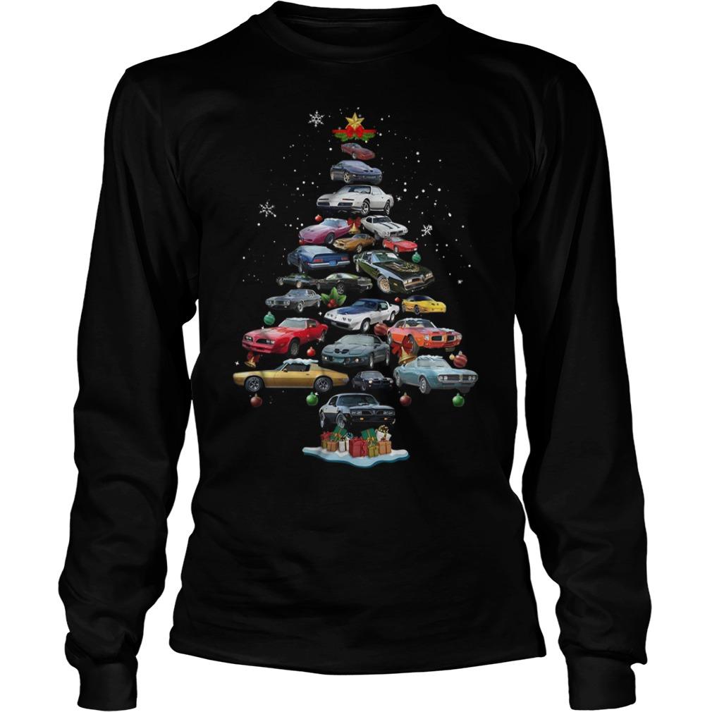 Firebird Christmas tree Longsleeve Tee