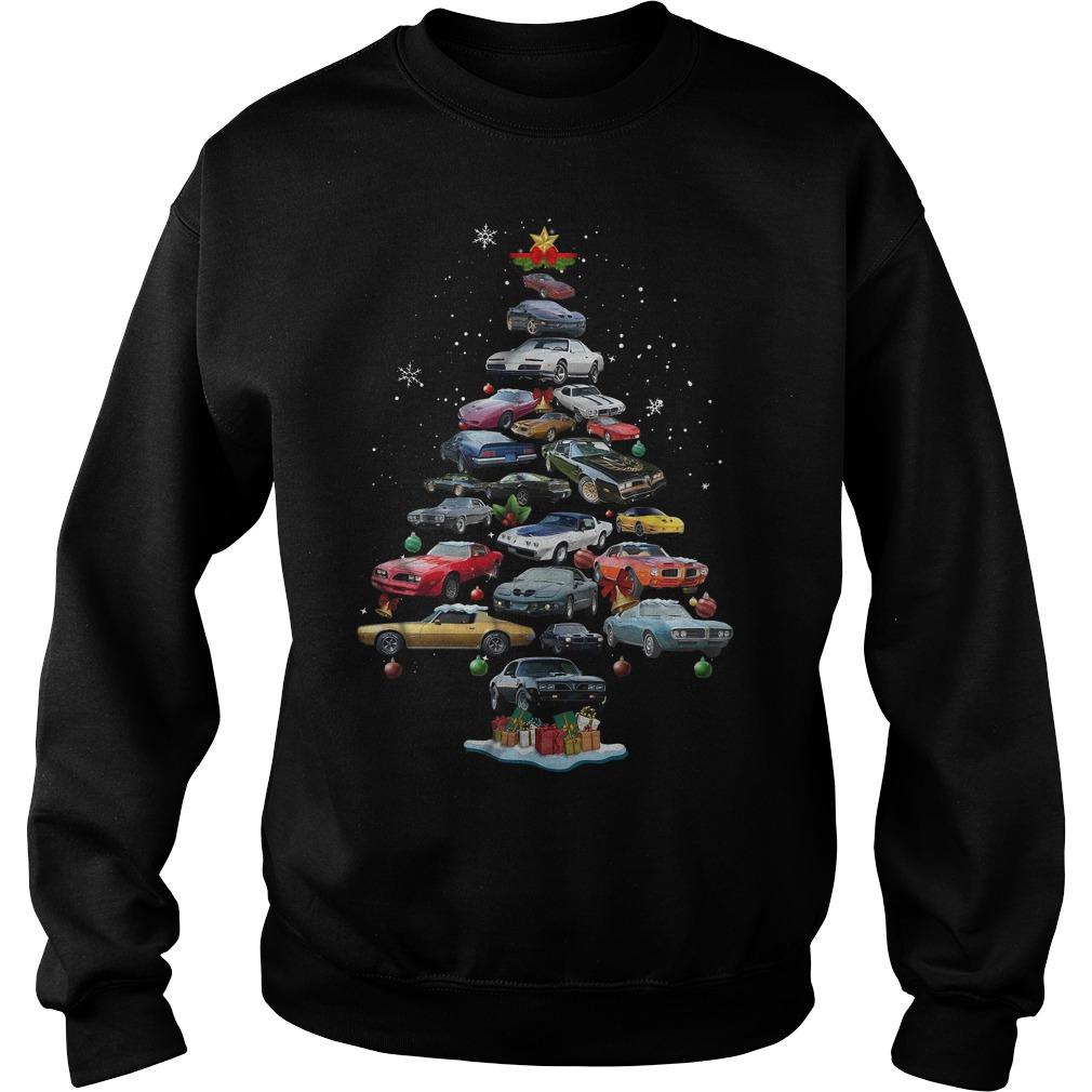 Firebird Christmas tree Sweater