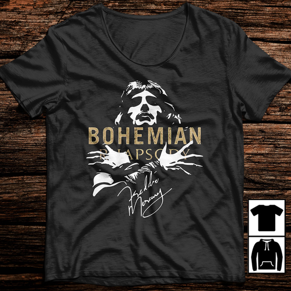 Freddie Mercury Bohemian Rhapsody shirt