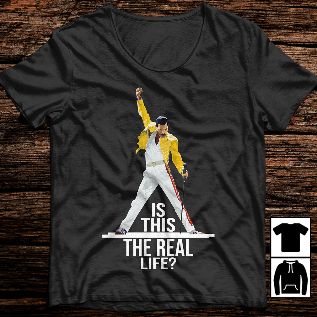 Freddie Mercury is this the real life shirt