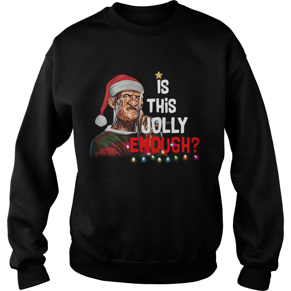 Freddy Krueger Santa is this Jolly enough Christmas sweater