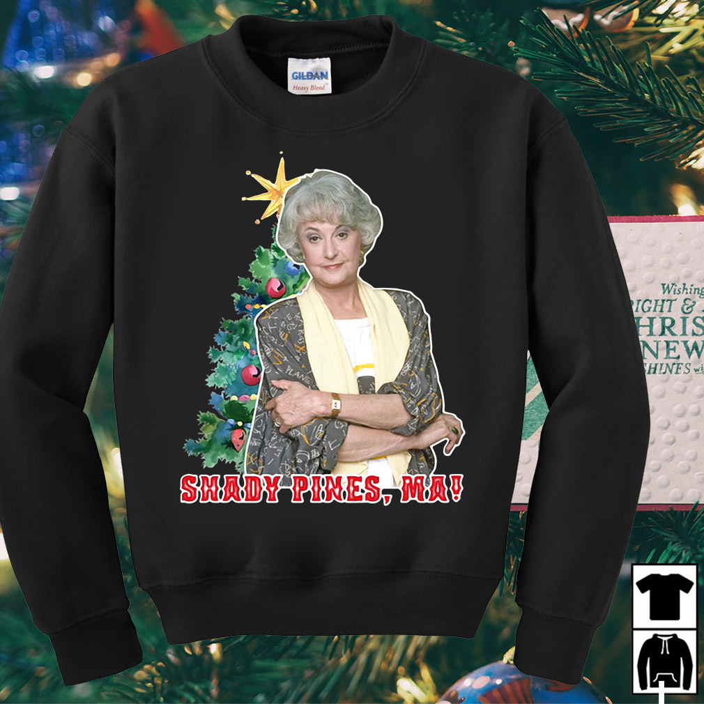 Golden Girls Dorothy Zbornak shady pines Ma Christmas sweater