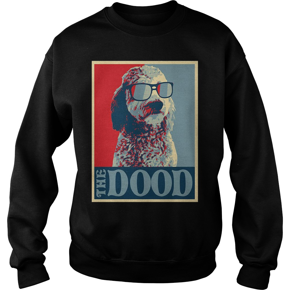 Goldendoodle The Dood Dog Sweater