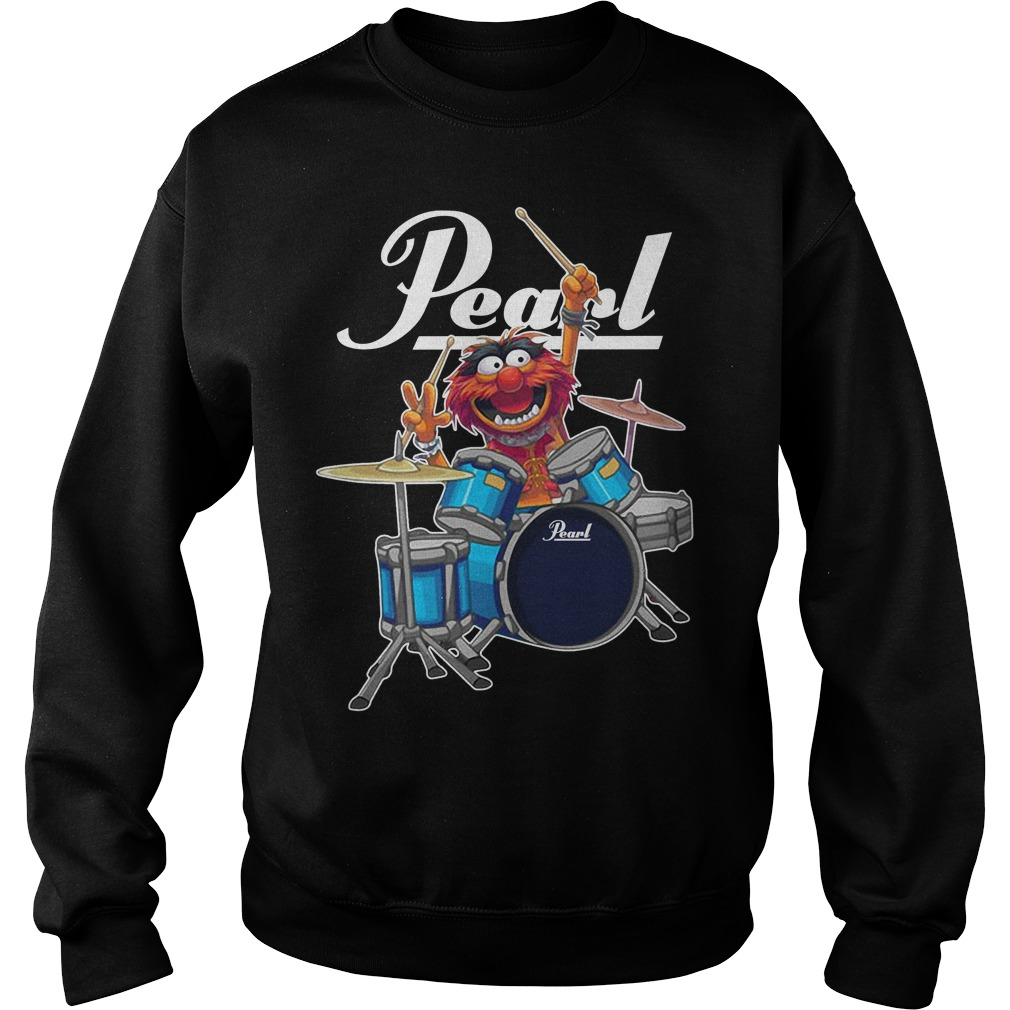 Gritty Pearl drums logo Sweater