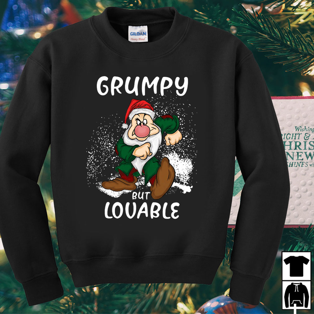 Grumpy but lovable Christmas sweater