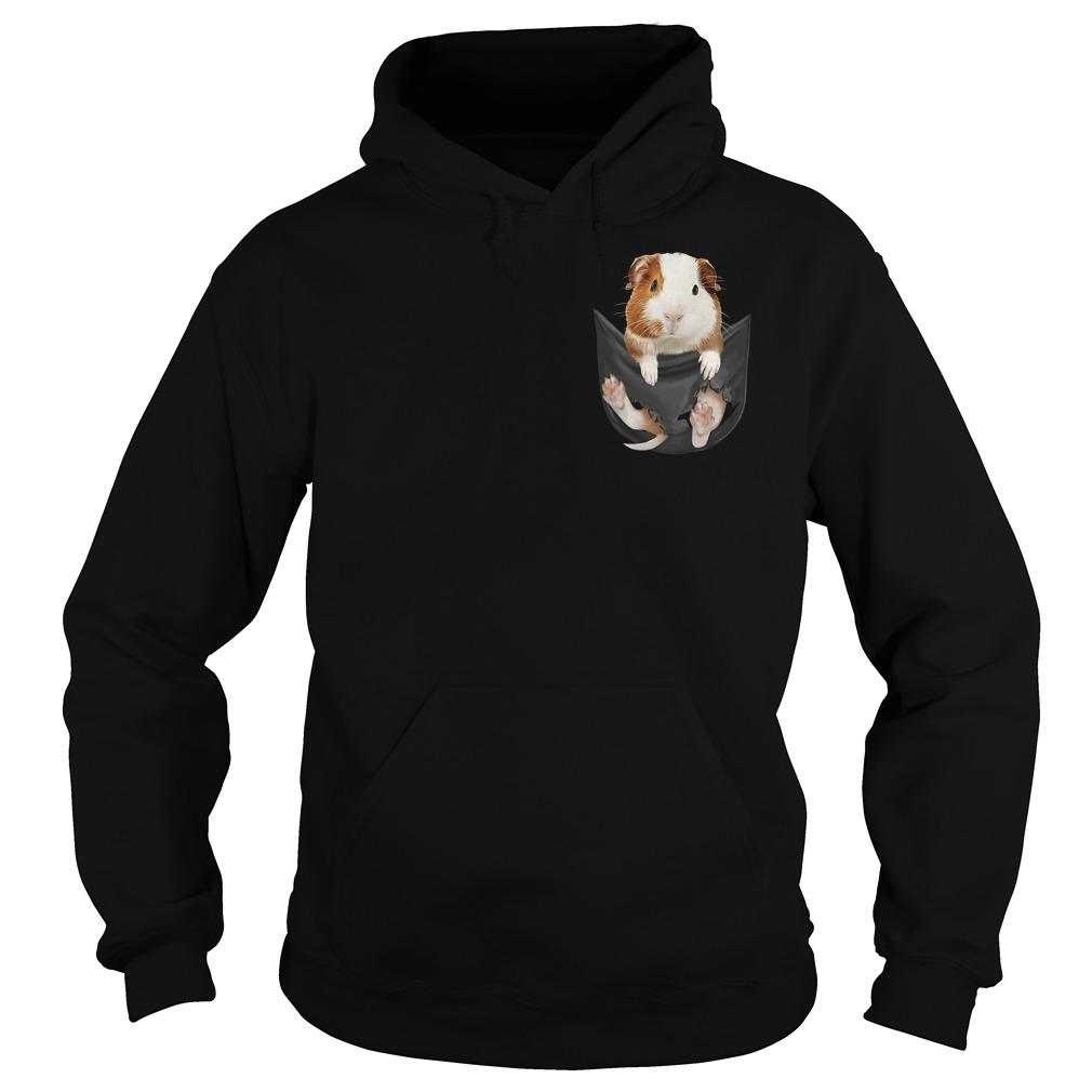Guinea Pig in a pocket Hoodie