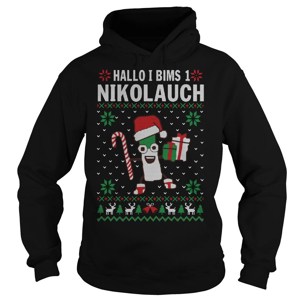 Hallo I bims 1 Nikolauch Christmas Hoodie