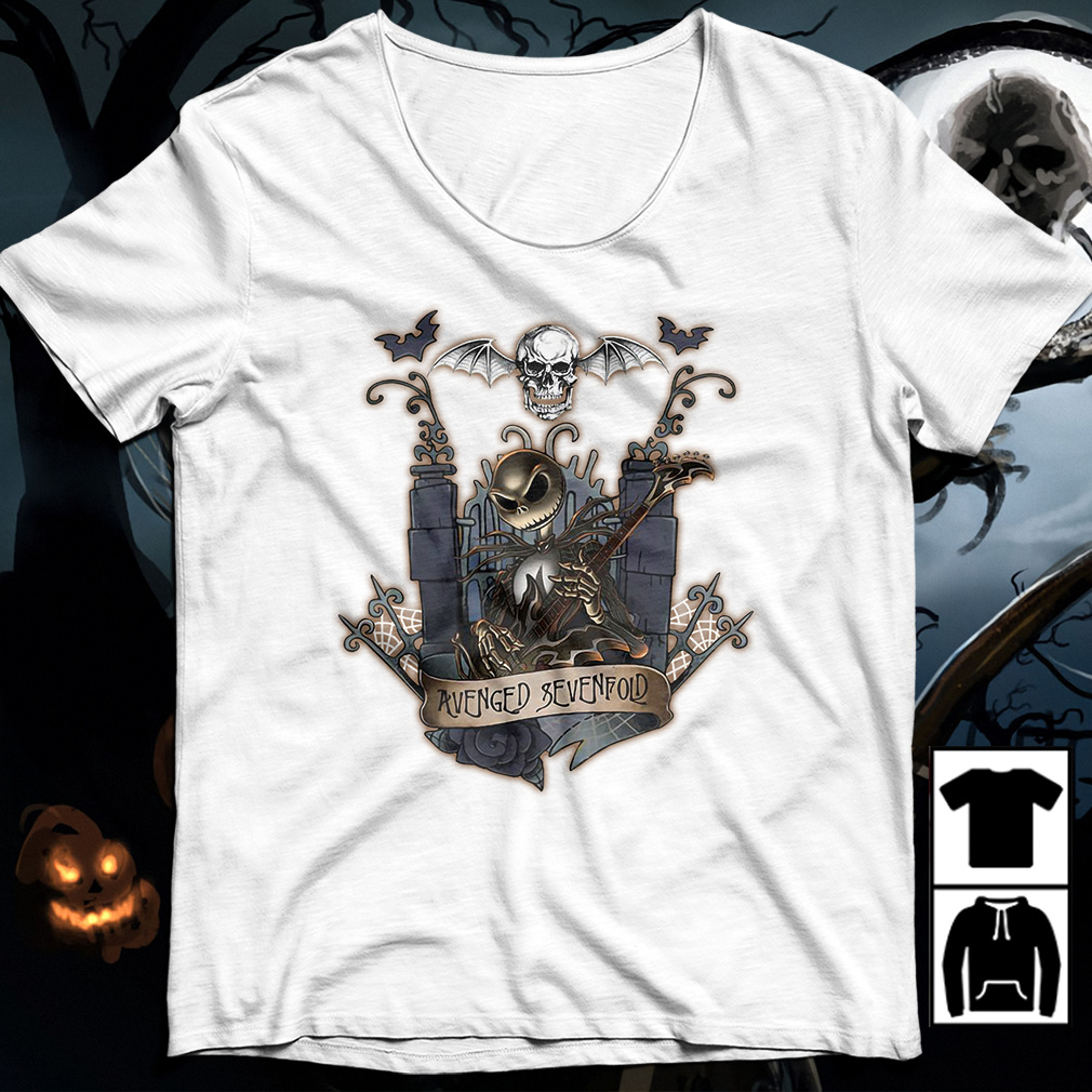 Halloween Jack Skellington Avenged Sevenfold shirt