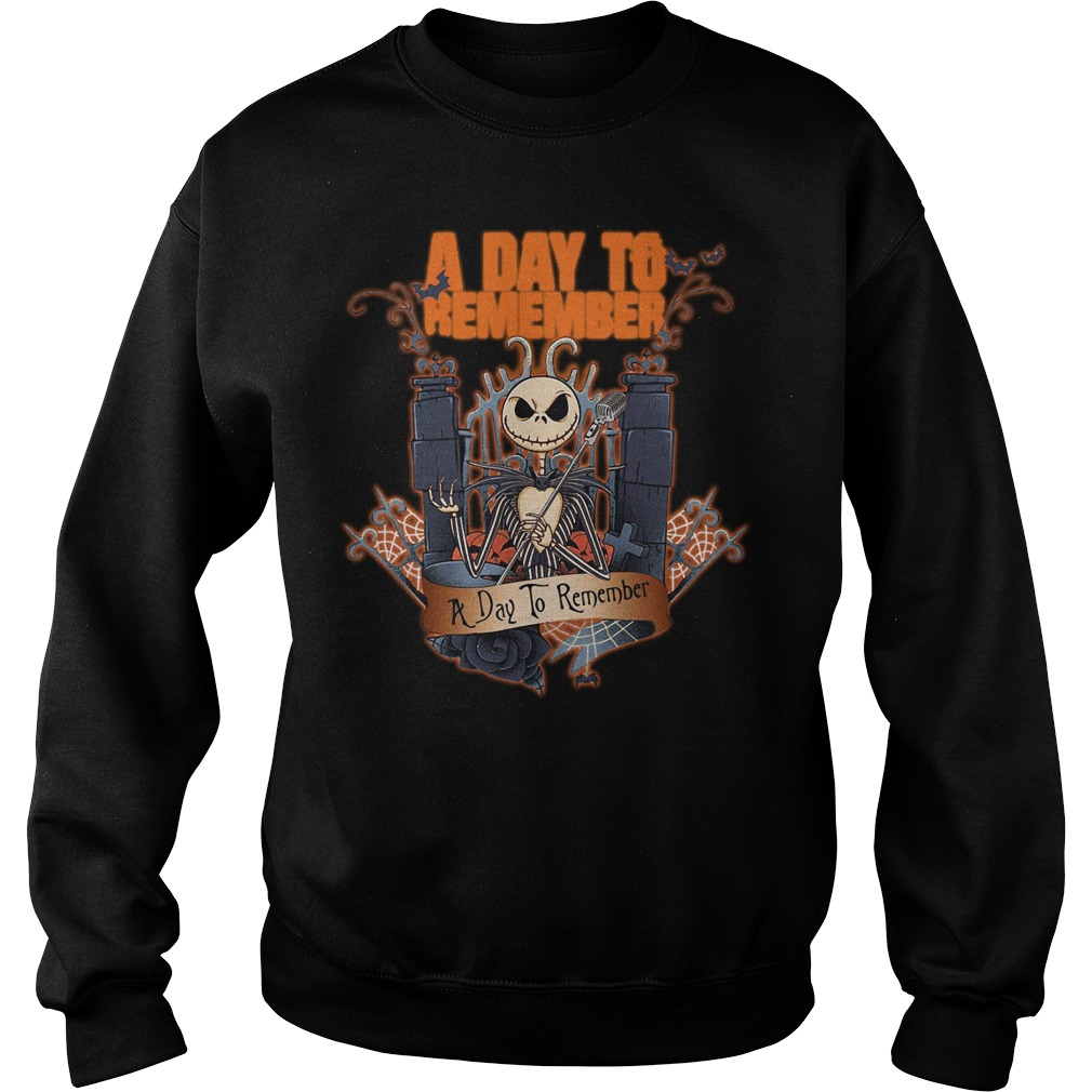 Halloween Jack Skellington a day to remember Sweater