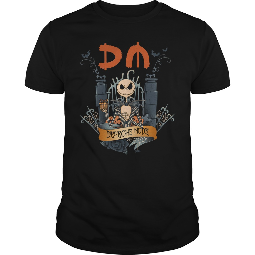 Halloween Jack Skellington depeche mode Guys Shirt