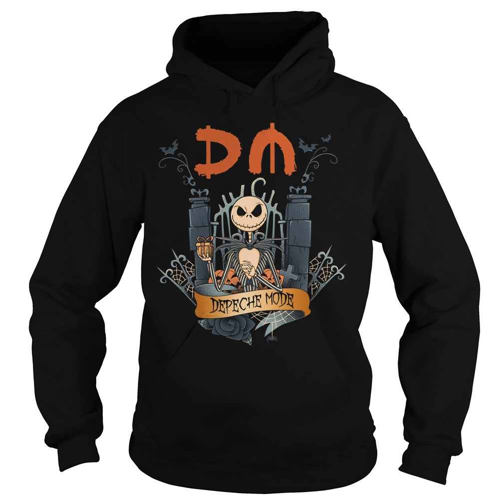 Halloween Jack Skellington depeche mode Hoodie