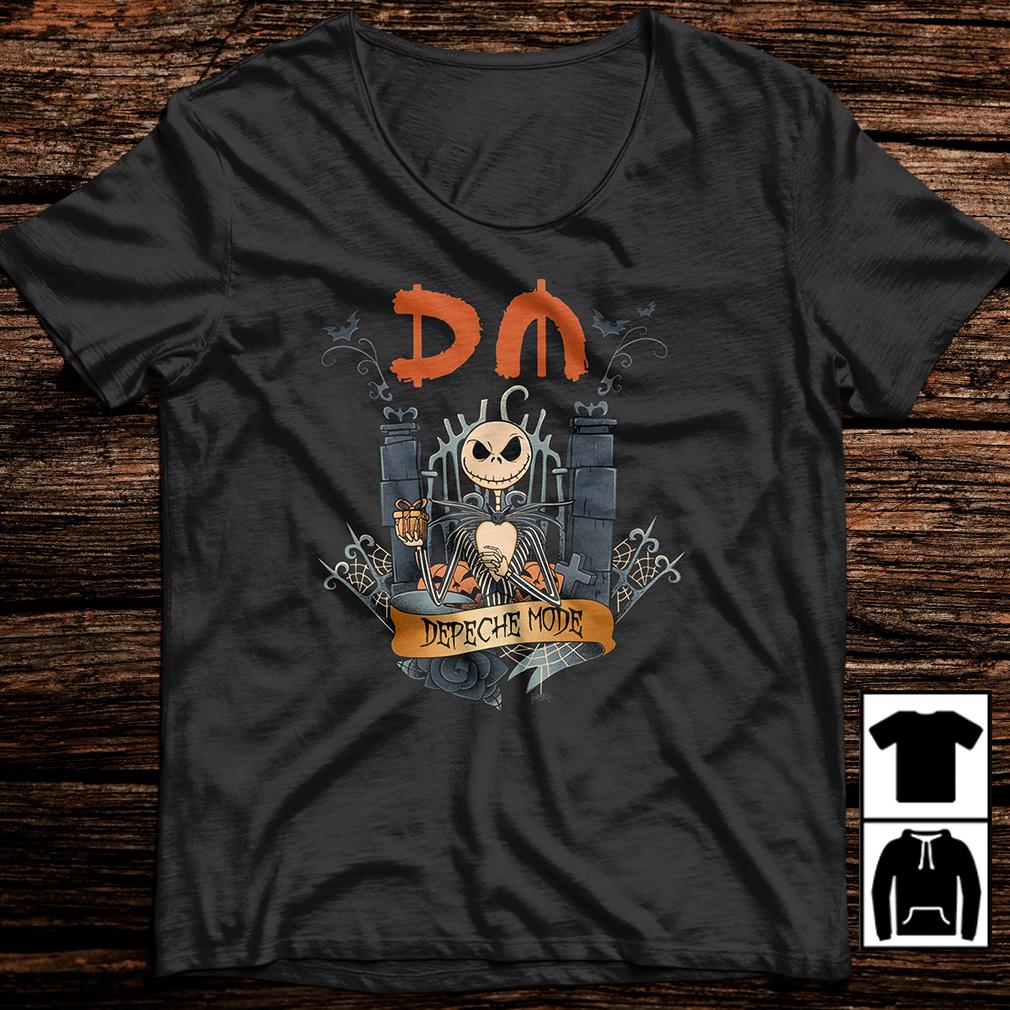 Halloween Jack Skellington depeche mode shirt