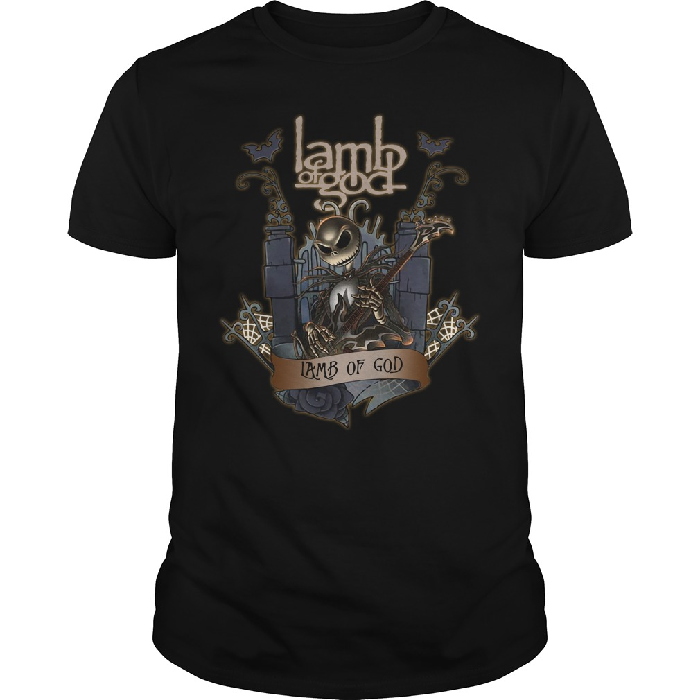 Halloween Jack Skellington Lamb Of God Guys shirt