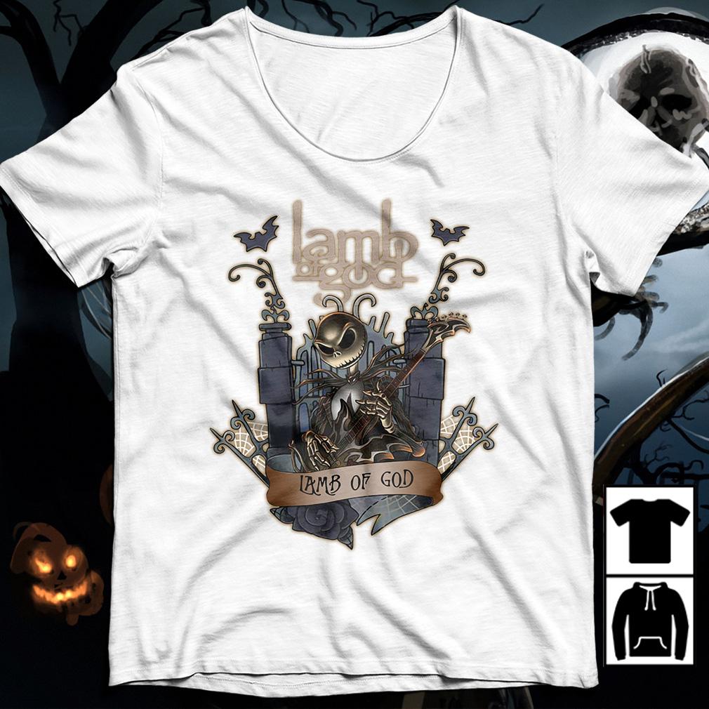 Halloween Jack Skellington Lamb Of God shirt