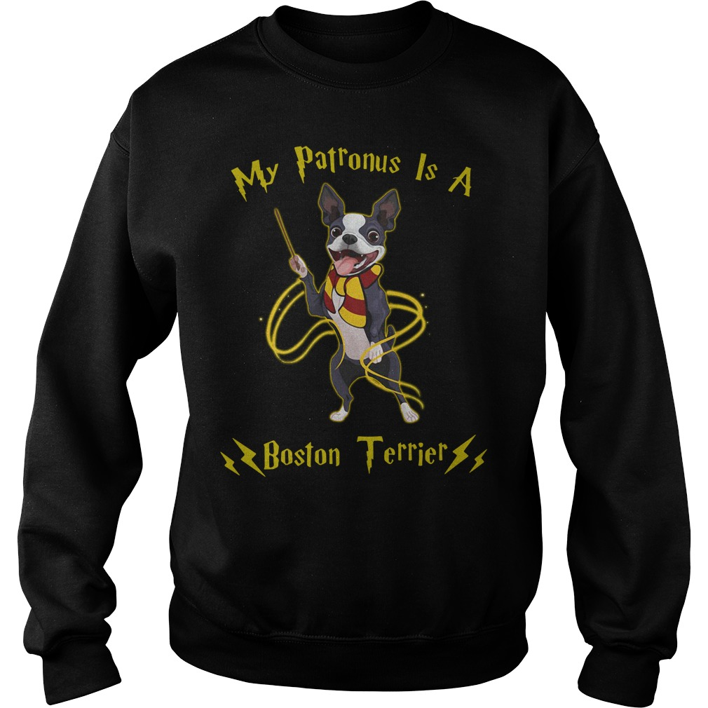 Harry Potter my Patronus is a Boston Terrier Sweater