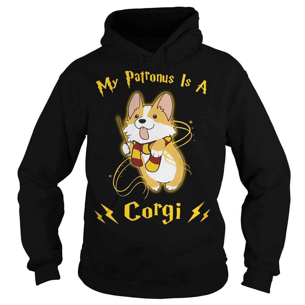 Harry Potter my Patronus is a Corgi Hoodie