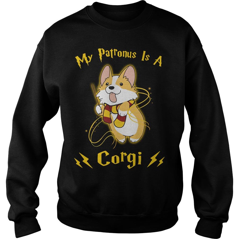 Harry Potter my Patronus is a Corgi Sweater