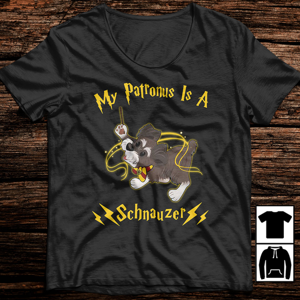 Harry Potter my Patronus is a Schnauzer shirt