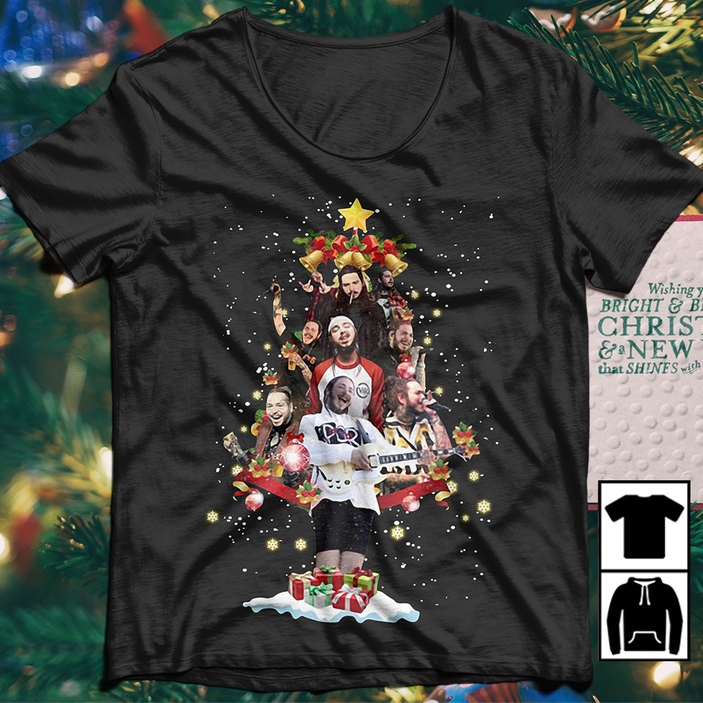 Leave Me Malone Christmas Tree sweater