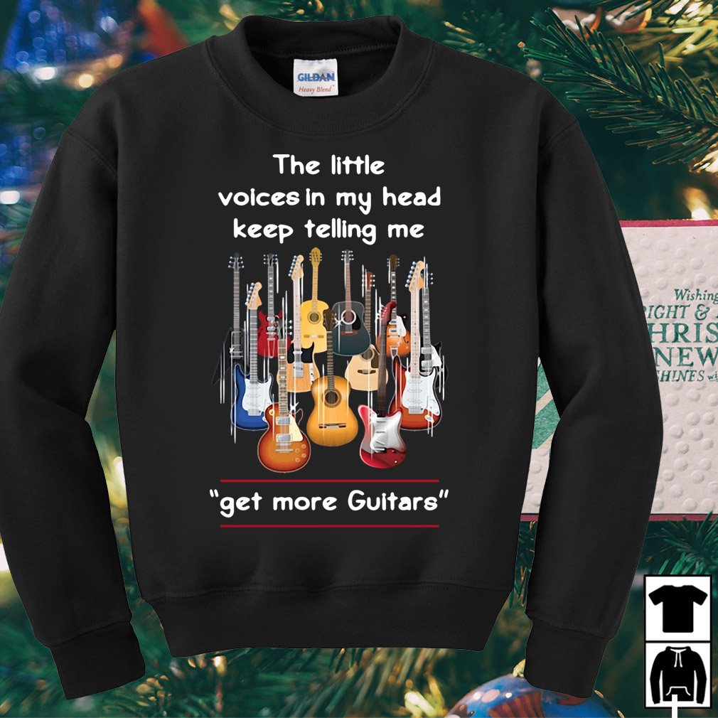 The little voices in my head keep telling me get more guitar shirt