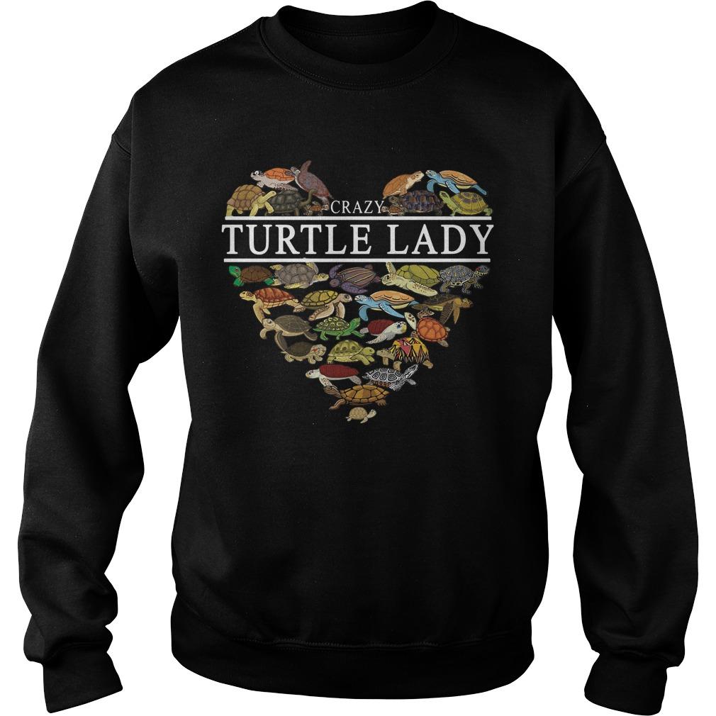I love crazy Turtle lady aholic Sweater