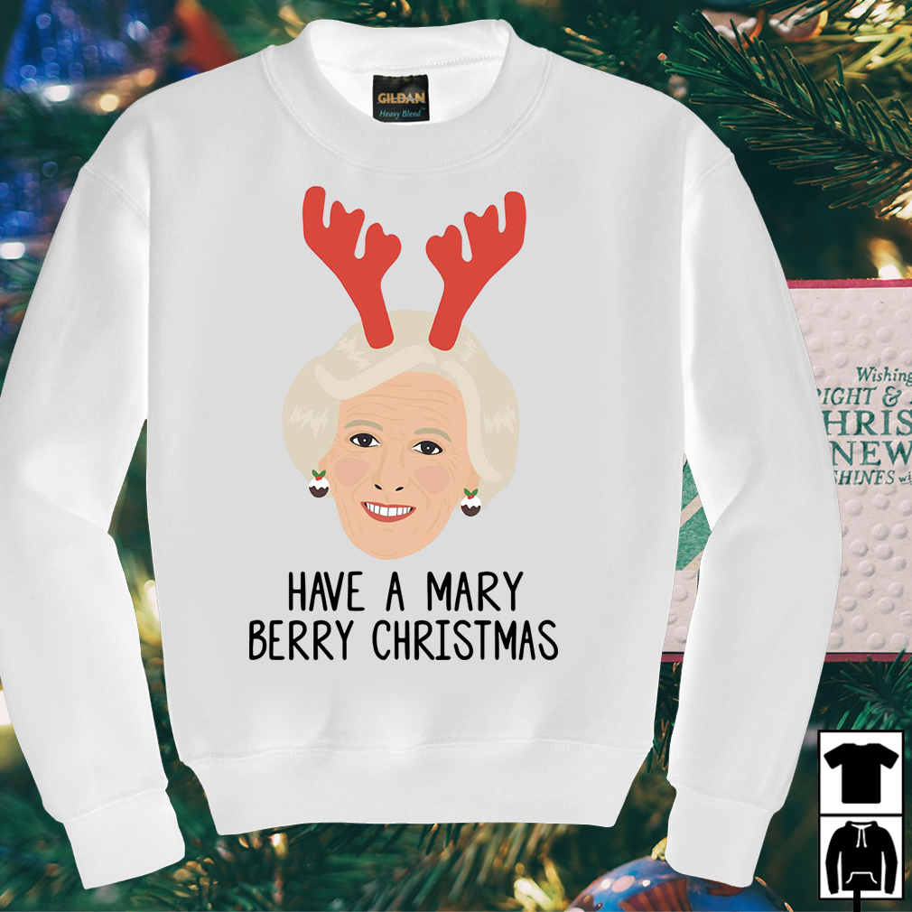Have a Mary Berry Christmas sweater